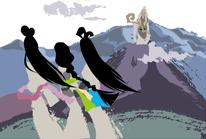 「早池峰の女神」シーン1