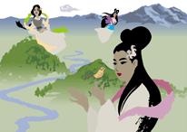 「早池峰の女神」シーン3